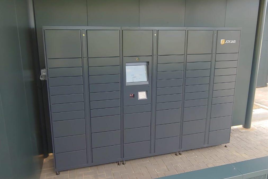 Una recente installazione dello Smart Locker in Grigio Scuro
