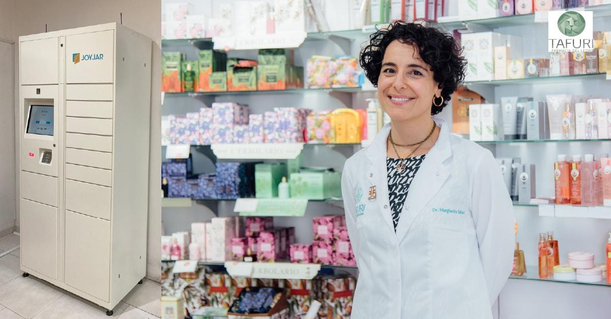 Case Study - la Farmacia del Leone sceglie lo Smart Locker JoyJar