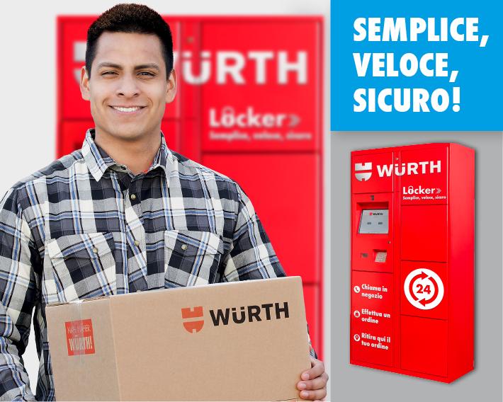 Case study: Il Würth Locker per il ritiro ordini H24